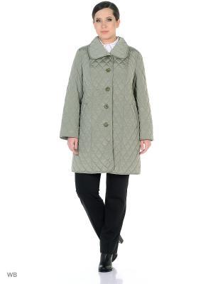 Пальто Batell. Цвет: оливковый