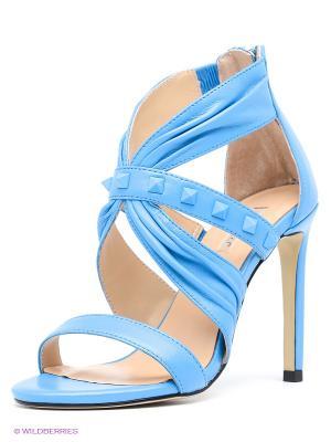 Босоножки Vitacci. Цвет: голубой