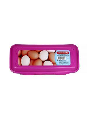 Контейнер для 10 яиц Migura. Цвет: розовый