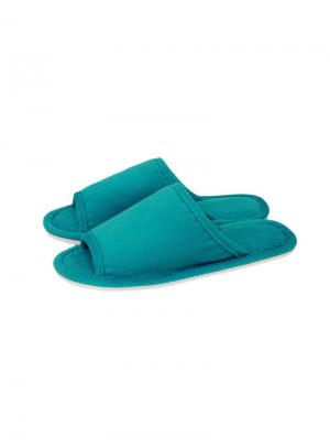 Тапочки TAP MODA. Цвет: бирюзовый
