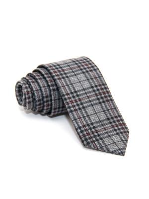 Галстук Churchill accessories. Цвет: черный, темно-синий, синий, серо-коричневый, серый, темно-серый, коралловый, оранжевый, горчичный