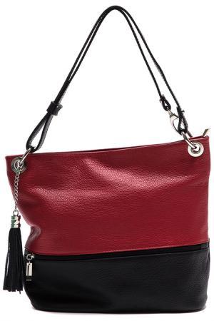 Bag ANNA LUCHINI. Цвет: red and black