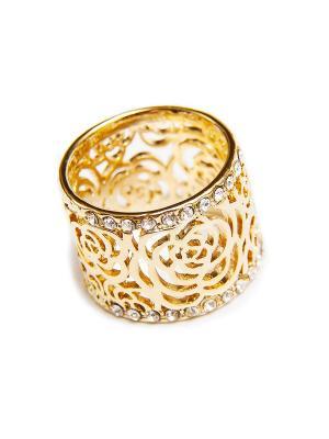 Кольцо Kameo-bis. Цвет: белый, золотистый