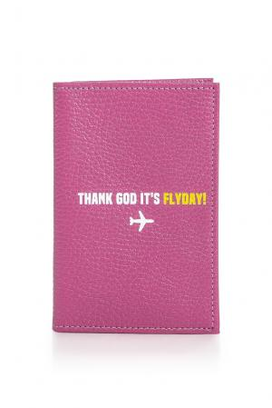 Обложка на паспорт 164420 Girls In Bloom. Цвет: розовый