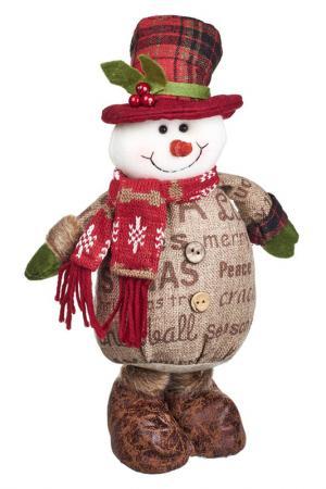 Снеговик DUE ESSE CHRISTMAS. Цвет: красный, бежевый, белый