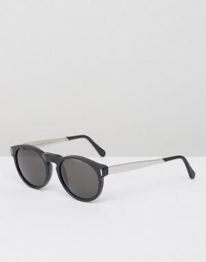 Retrosuperfuture Солнцезащитные очки Paloma. Цвет: черный