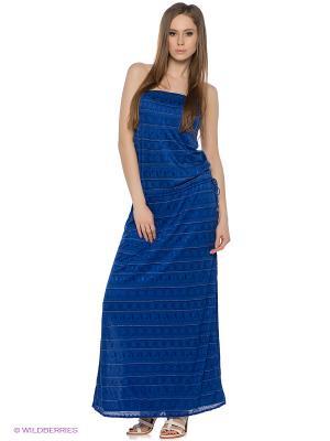 Платье Vitamin A. Цвет: синий