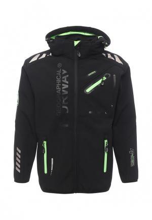 Куртка Geographical Norway. Цвет: черный