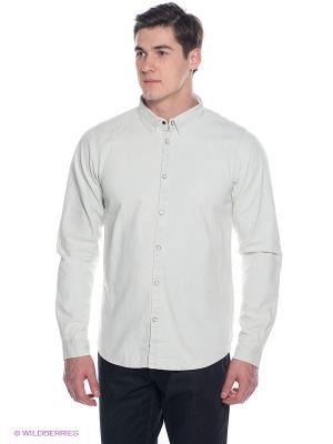 Рубашка BRUNOTTI. Цвет: молочный