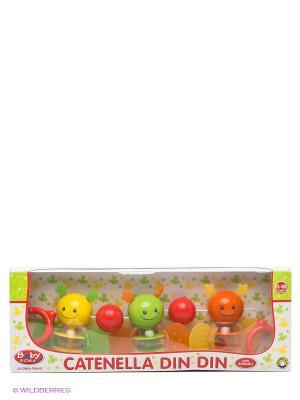 Погремушка для коляски Globo. Цвет: красный, желтый, зеленый, оранжевый