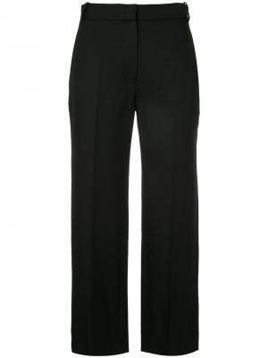 Укороченные брюки Vilshenko. Цвет: чёрный