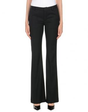 Повседневные брюки VIRNA DRÒ®. Цвет: черный