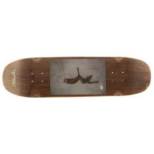 Дека для скейтборда лонгборда  Banana photo 2 Brown 8.5 x 32.25 (82 см) Absurd. Цвет: мультиколор,коричневый