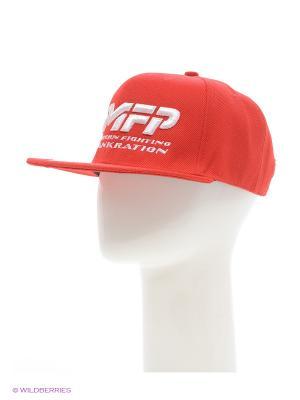 Бейсболка MFP PANKRATION. Цвет: красный