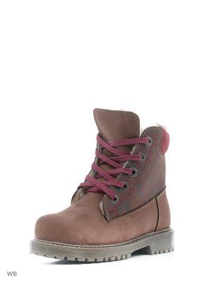 Ботинки Котофей. Цвет: коричневый