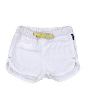 Повседневные брюки IMPS&ELFS. Цвет: белый