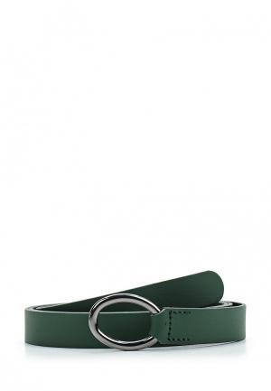 Ремень United Colors of Benetton. Цвет: зеленый