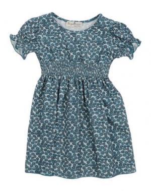 Платье LE PETIT COCO. Цвет: цвет морской волны