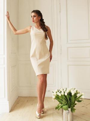 Платье Fashion.Love.Story.. Цвет: бежевый