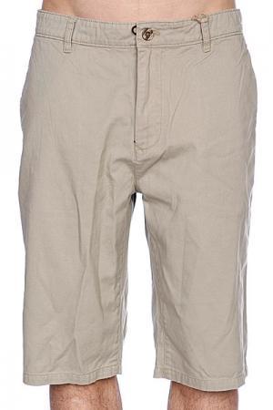 Классические мужские шорты  Freil Chino Desert Independent. Цвет: бежевый