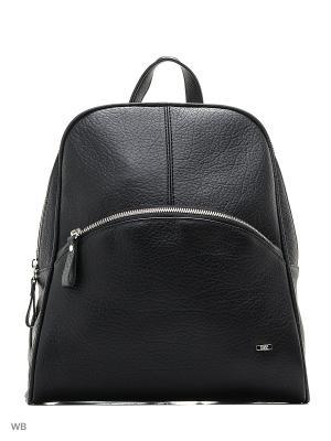 Рюкзак Esse. Цвет: черный