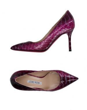 Туфли LUCIANO PADOVAN. Цвет: розовато-лиловый