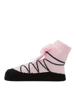 Носочки Пуанты черные Pretty Fashion Baby. Цвет: черный