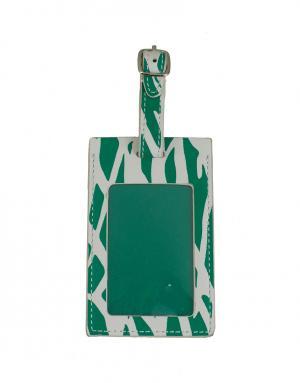 Багажная бирка Diane von Furstenberg. Цвет: зеленый