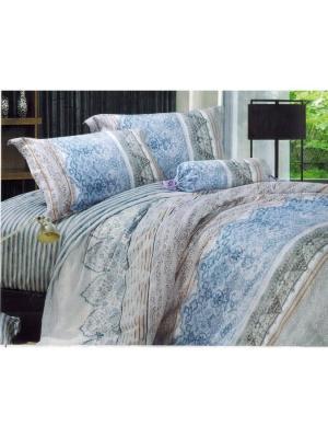 Комплект 2.0, SATIN PVC2-2.0 Cite Marilou. Цвет: бирюзовый, голубой