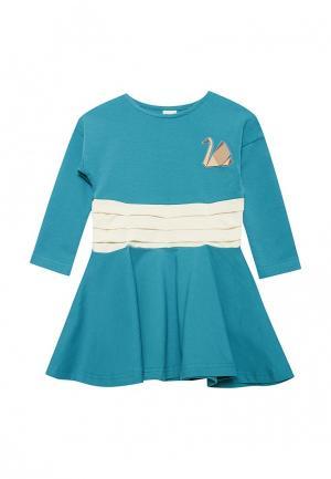 Платье Ёмаё. Цвет: бирюзовый