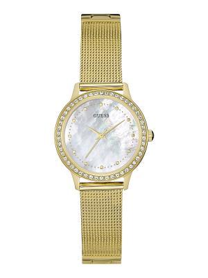Часы GUESS. Цвет: золотистый, желтый