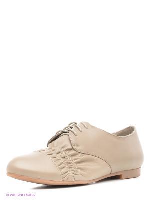 Ботинки Le Follie. Цвет: бежевый