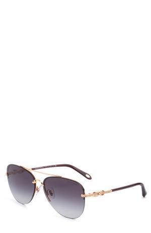 Солнцезащитные очки Tiffany & Co.. Цвет: серый