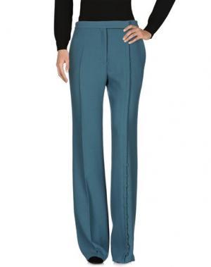 Повседневные брюки MARCO DE VINCENZO. Цвет: цвет морской волны