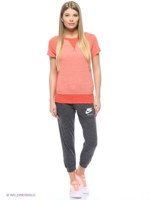 Капри W NSW GYM VNTG CPRI Nike. Цвет: серый, серый меланж