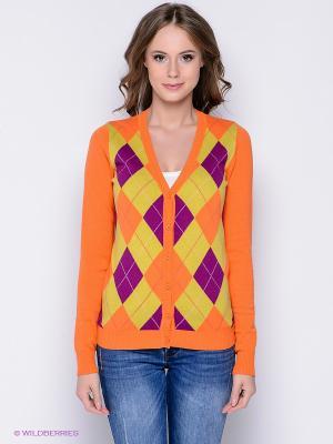 Кардиган Baon. Цвет: оранжевый, горчичный, фиолетовый