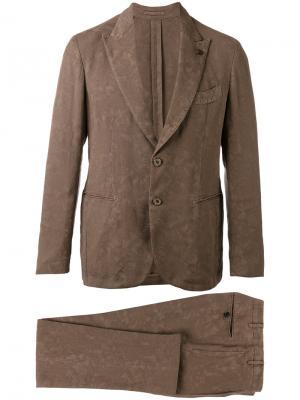 Вечерний костюм Gabriele Pasini. Цвет: коричневый