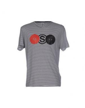 Футболка SOHO. Цвет: темно-синий