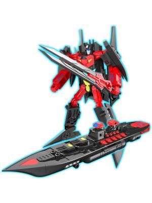 Робот, Трансформер Собирается в Авианосец XL Склад Уникальных Товаров. Цвет: красный