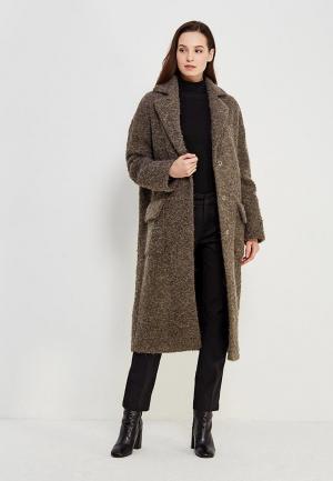 Пальто AzellRicca Azell'Ricca. Цвет: коричневый