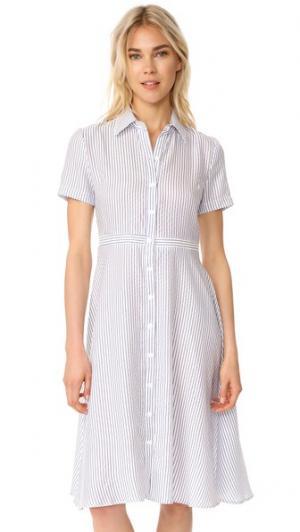 Платье Hal RUKEN. Цвет: белый/синяя полоска