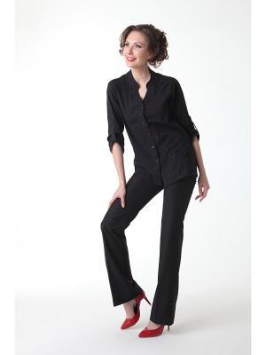 Блуза DizzyWay. Цвет: черный