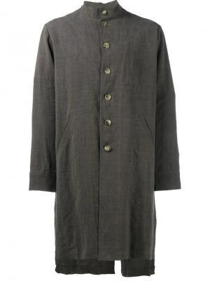 Пальто на пуговицах By Walid. Цвет: коричневый