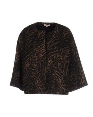 Пиджак ZHELDA. Цвет: темно-коричневый