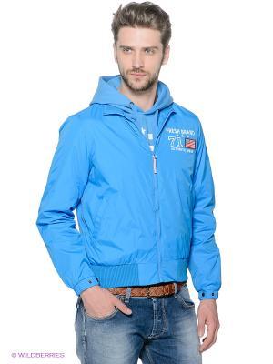 Куртка Fresh. Цвет: синий