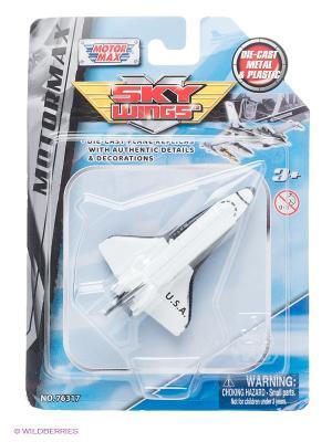 Коллекционная игрушка Космический корабль Space Shuttle Motormax. Цвет: белый