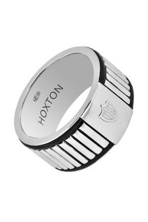 Кольцо HOXTON. Цвет: серебряный