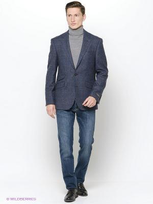 Пиджак DOUGLAS. Цвет: синий