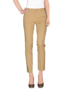 Повседневные брюки ATELIER ARCHIVIO. Цвет: бежевый