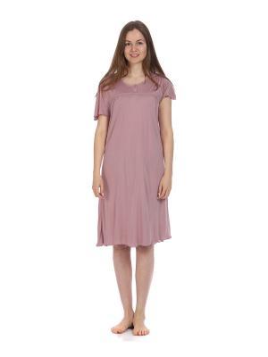 Ночная сорочка MARIPOSA. Цвет: лиловый